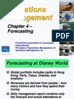 4. Forecasting