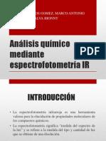 Análisis Químico Mediante Espectrofotometría IR