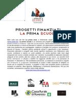 Presentazione progetti borsisti bando La Prima Scuola