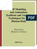 3D Modeling and Animation Synthesis and Analysis Techniques for the Human Body 2004-1931777985