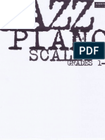 Piano Jazz Scales Grade 1-5