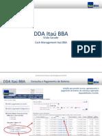 DDA Itaú BBA Visão Sacado.ppt