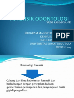 Forensik Odontologi Ppt Dr Dwi