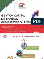 GESTION CAPITAL DE TRABAJO - GESTION DEL EFRECTIVO.ppt