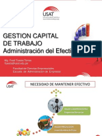 GESTION CAPITAL DE TRABAJO - GESTION DEL EFRECTIVO.ppt