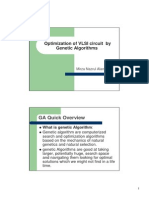 1 Optimization of VLSI circuit by Genetic Algorithms