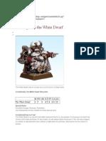 White Dwarf Rules 8th Ed. Feb 2014