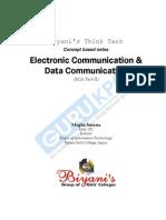 Electronic Communication & Data Communication