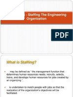 Chapter 5 Staffing