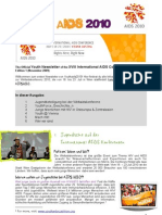 Vienna YouthForce Newsletter 1 German