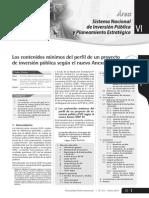Los contenidos mínimos del perfi l de un PIP sgun el nuevo anexo snip 05.pdf