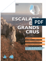 Topoguide Escalade des Grands Crus 1998 - Philippe GLEIZES - Brochon - Gevrey-Chambertin - Chambolle-Musigny