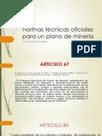 Normas técnicas oficiales para un plano de mineria.pptx