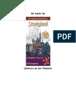 Imagineering Field Guide to Disneyland Index