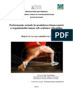 Performanțe actuale în modelarea biomecanică a organismului uman sub acțiunea vibrațiilor