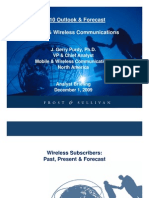 Outlook Forecast Mobile Wireless Communications 12-01-09