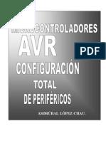 UC AVR Configuración Total de Perifericos