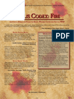 Teclis Codex 3 - Fire