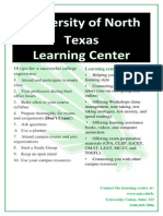 poster for learning center