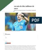 El árbitro millonario que dirigirá a Argentina en octavos de final2014.docx