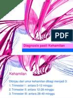 Diagnosis Pasti Kehamilan