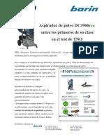 N.P.  Aspirador DC3900 eco entre los primeros de su clase en el test de TNO.pdf
