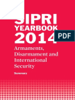 SIPRI Yearbook 2014 Summary in English