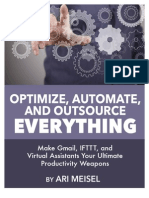 Optimize, Automate, And Outsource Everything - Ari Meisel