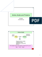 18 Amino Acids and Proteins
