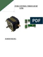 STEPPER MOTOR CONTROL THROUGH RF LINK.pdf