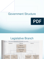 government structure powerpoint