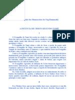 2 - A Infancia de Jesus Segundo São  Tome.doc