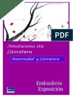 Amatasuna eta literatura -- Maternidad y literatura
