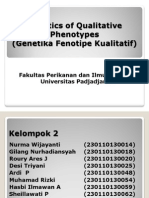 Kualitatif Fenotipe Genetika