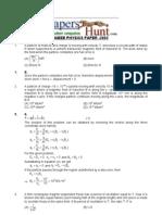 Aieee Physics Paper -2003