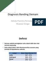 Diagnosis Banding Demam.pptx