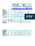 Dubai business directory Sample