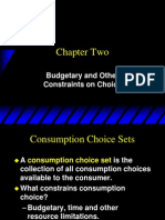 Varian Chapter02 Budget Constraint