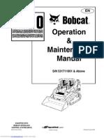 Bobcat T190 Operation Maintenance Manual