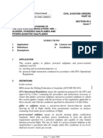 Civil Aviation Orders Part 95 Section 95.4 Issue 7