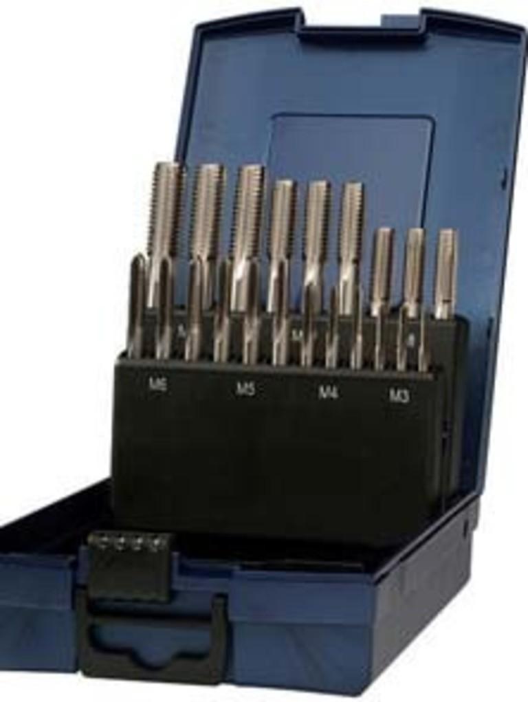 Gewindebohrer Gewindeschneider Set 110 tlg M2 bis M18 metrisch 00144