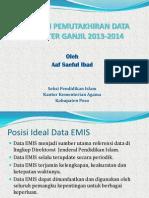Evaluasi Pemutakhiran Data EMIS Kabupaten Poso 2014.pptx