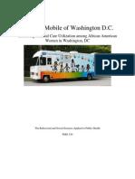 Increasing Prenatal Care Utilization among African American Women in Washington, DC