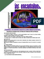 Cuadernillo de actividades para la II Semana del Terror (del 27 al 30 de octubre de 2014) del IES Lucas Mallada, dedicada en esta ocasión a los edificios encantados