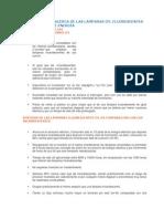 TABLAS Y DATOS ACERCA DE LAS LÁMPARAS CFL FLUORESCENTES AHORRADORAS DE ENERGÍA.docx