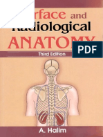 Surface & Radiological Anatomy (3rd Ed)(Gnv64)