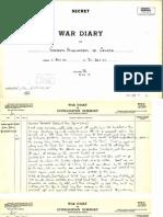 26. War Diary - Oct 1941