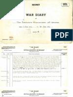 29. War Diary - Jan. 1942