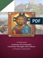 Brochure - Institute Orthodox at Eastern University