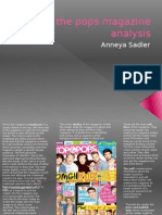 Top of the Pops Magazine Analysis